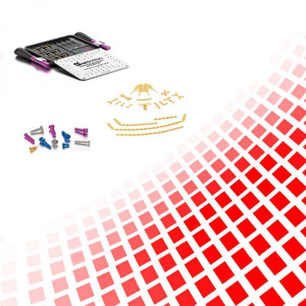 Sistemas placas e parafusos 1.5 / 2.0 e 2.4 mm