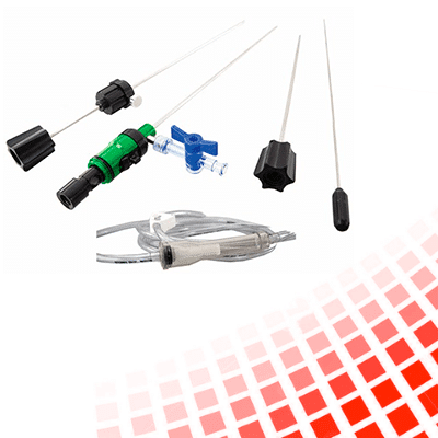kit dissecotmia percutânea flexível ponta curva axiste produtos